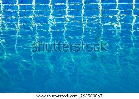 Abstract water background with vignette