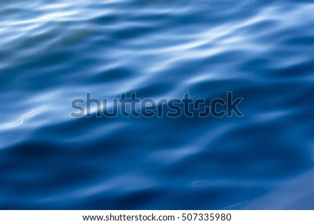 Abstract water pattern with waves