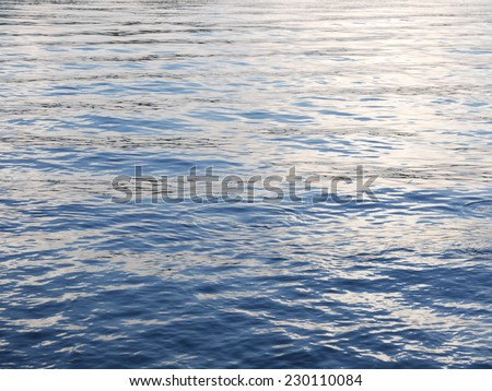 Abstract water reflection - stock photo