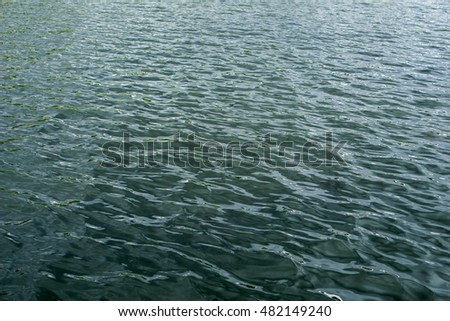 Abstract water sea for background