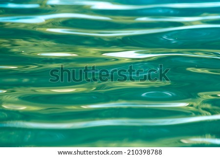 abstract water surface - stock photo