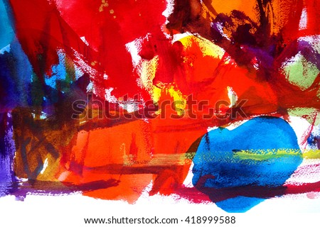 abstract watercolor background design