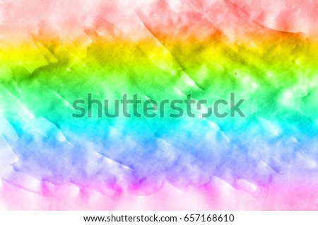 Abstract Watercolor Background Multicolored Ink Stains Stock All Backgrounds Color
