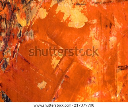 Abstract watercolor  background or texture made with multiple layers of  mixed media elements.