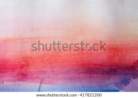 Abstract watercolor background. Saturated pattern. - stock photo