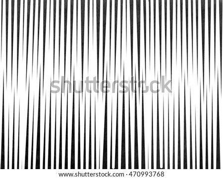 Abstract watercolor black striped background. Black monochrome pattern.