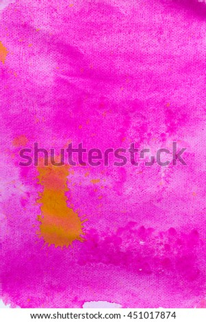Abstract watercolor painted backgrounds - stock photo