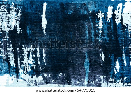 abstract watercolor painted grunge background - stock photo