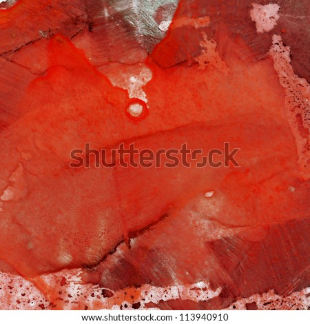Abstract watercolor painting. Design element. - stock photo