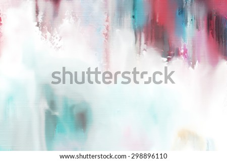 abstract watercolor painting on canvas/watercolor on canvas/abstract watercolor painting on canvas - stock photo