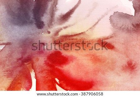 Abstract watercolor paintings. Purple and pink Tint Watercolour Texture Gradient. Pastel Colored Palette.