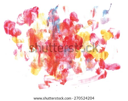 abstract watercolor spot. hand made drawing. impressionism style. suitable for various designs and scrapbooking