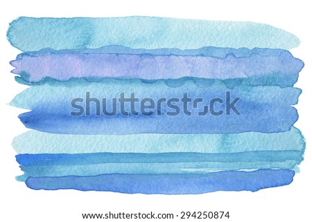 Abstract watercolor strip painted background. Texture paper. - stock photo