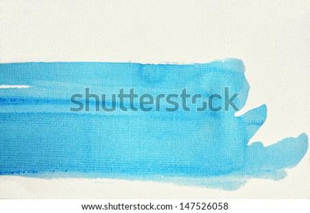 Abstract watercolour splash. Watercolour Background - stock photo