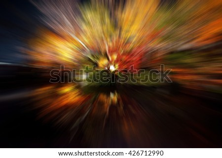 abstract wave line , effect background