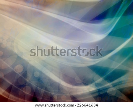 abstract wavy background design with bright white waves of transparent smooth texture swirls, elegant purple blue background with cool bright shapes and patterns - stock photo