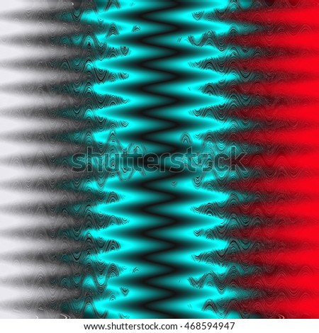 Abstract wavy background, illustration