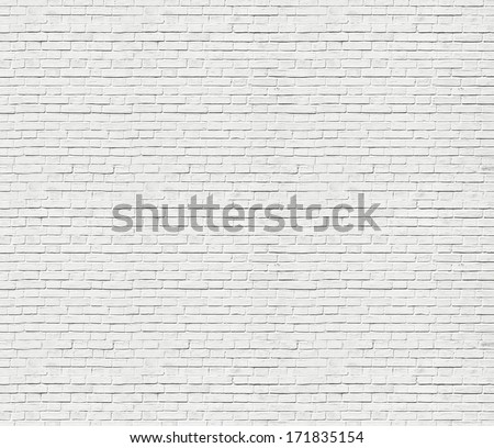 Abstract weathered texture of stained old dark stucco gray and painted white brick wall background in rural room, grungy rusty blocks of stonework technology colorful horizontal architecture wallpaper - stock photo