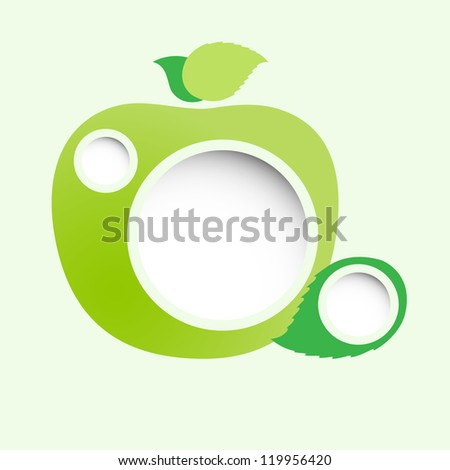 Abstract web design. Raster version of the loaded vector. - stock photo