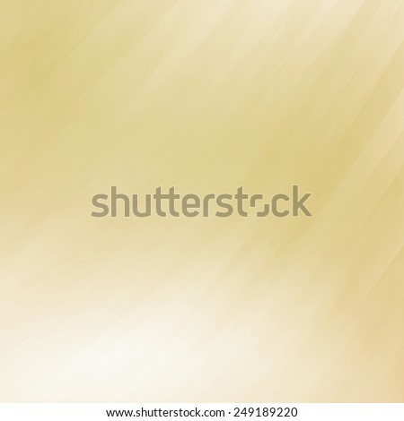 abstract white and beige background, faded blurred streaks of paint in diagonal pattern - stock photo