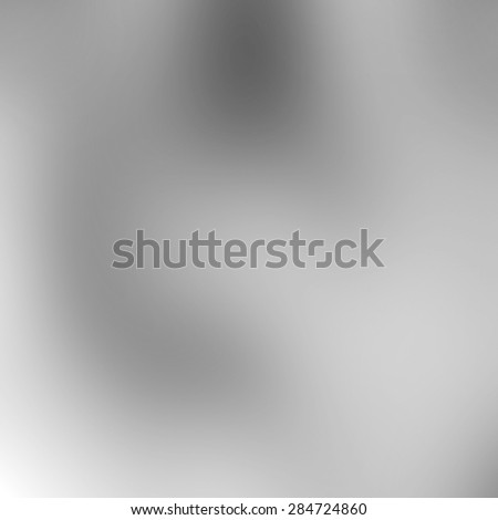 Abstract white and gray metal background subtle chrome texture - stock photo