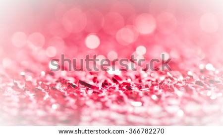 Abstract white and pink holiday Valentine twinkled bright background with natural bokeh defocused lights. Festive background. - stock photo