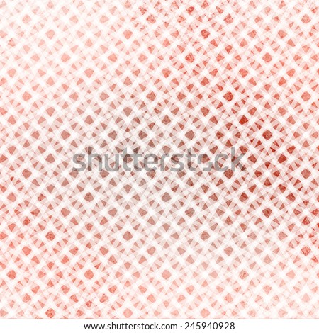 abstract white background layer of checkered white line design pattern on brown orange and peach blended background color - stock photo