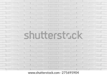 Abstract White background with old brick wall - stock photo