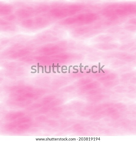 abstract white clouds pattern on pink background - stock photo