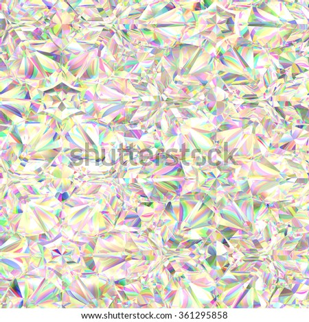 Abstract  white crystal texture - stock photo