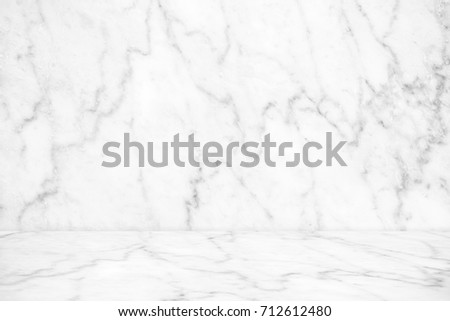 marble table top texture. Abstract White Marble Texture Background On Floor : Top View Of Table For