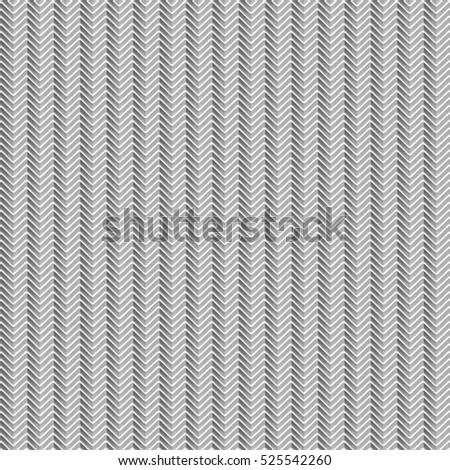 Abstract White Pattern Zigzag line repeat, 3d illustration and Rendering textured background.