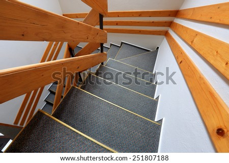 Abstract wide view on stars in interior