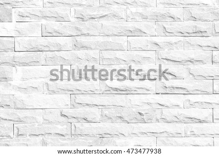 abstract withe brick wall texture of modern style design