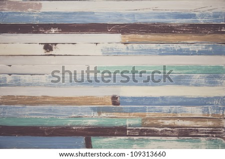 abstract wood texture background colorful - stock photo
