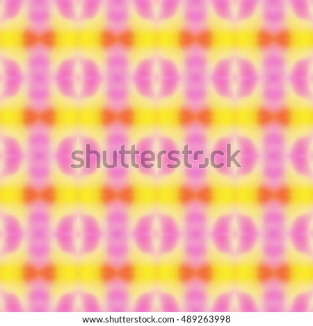 Abstract yellow and magenta blurred digital background. Abstract colorful pattern.