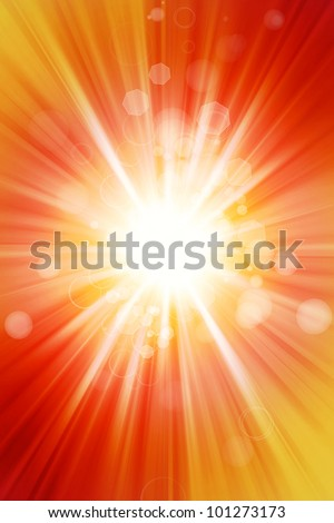 Abstract yellow and orange tone background