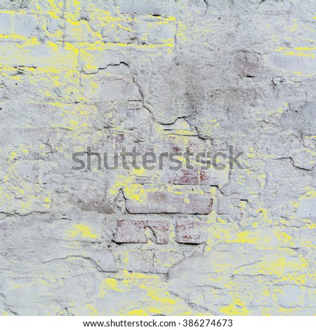 abstract yellow background gray concrete texture . Cement wall