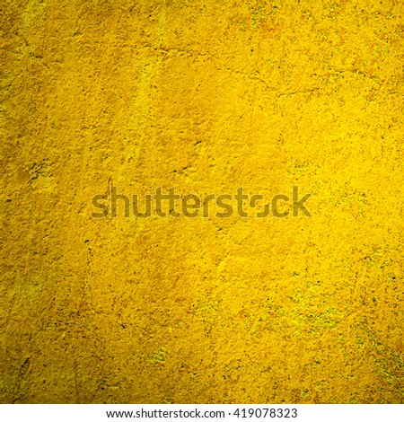 abstract yellow background texture cement wall