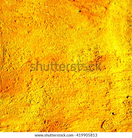 abstract yellow background texture concrete wall