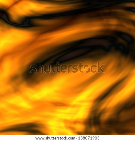 abstract yellow black curves background