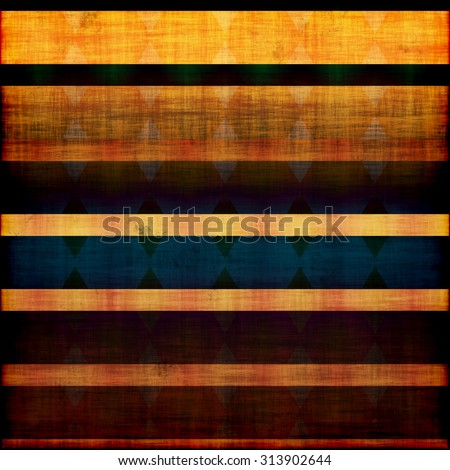 abstract yellow blue and black grunge background