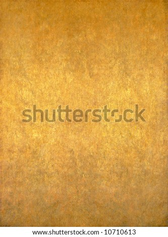 abstract yellow / golden background image with interesting earthy texture - stock photo