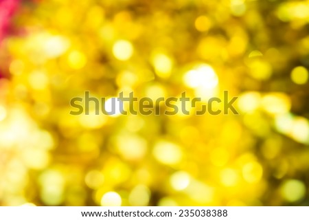 abstract yellow sparkling background, christmas background