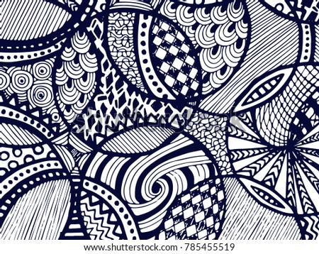 abstract zentangle background hand drawn ornament zentangle illustration for backgrounds and surface textures