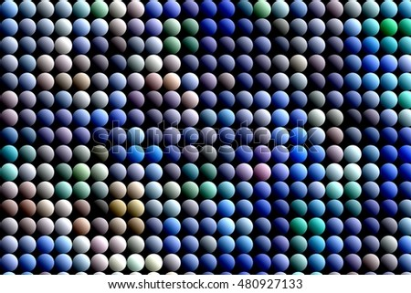 abstraction in color with circles for design, wrapping paper, textile