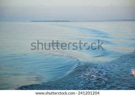 Abstraction in Water, for a natural  background - stock photo