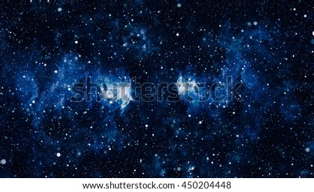 Abstraction space background for design. Mystical light