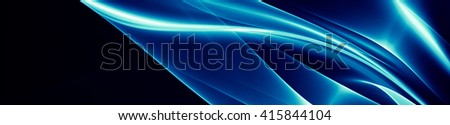 Abstraction with splashes of silver on a dark background. Texture abstraction is a pattern with a metallic sheen, like inlay. - stock photo