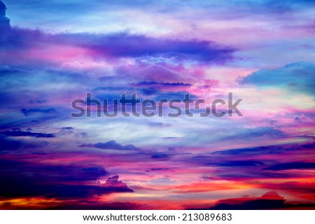 Abtract sky and clouds background texture